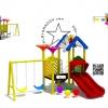 PPPLAY-0010 ชุด บ้านสีสัน FUN COMBINATION