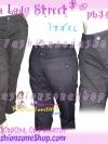 #หมด#SKINNYฮิตฮอตแฟชั่น เก๋สุดๆ PB348 KoreaSkinny กางเกงสกินนี่ Skinny ขาพับ ติดกระดุม ผ้าเกาหลี F21รุ่นนี้ทรงสวยใส่สบายไม่มีไม่ได้แล้ว สีกรมเทา XL