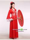 ชุดแฟนซีสาวจีนสีแดง