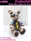 Bear102 ตุ๊กตาหมีตัวใหญ่ นั่งได้ ยืนได้ขยับขาเปลี่ยนอิริยาบทได้ ผ้าลินินญี่ปุ่นเนื้อดีหนาทนมือค่ะ งานแฮนเมด เหมาะเป็นของขวัญให้กับคนพิเศษ