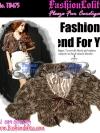 สไตล์สาวเกาหลี ลุคใสๆTB475 : Fur Cardigan Blink Korean: ใหม่! เสื้อคลุมตัวสั้นเฟอร์สีน้ำตาล ลุคสาวเกาหลีน่าหยิก ผูกโบซาติน ด้านในบุอย่างดีด้วยซาติน