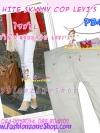 #SKINNYฮิตฮอตแฟชั่น เก๋สุดๆ PB433 CopLEVI'sSkinny กางเกงสกินนี่ Skinny ผ้ายืดเนื้อหนา ผ้านิ่ม รุ่นนี้ทรงสวยไม่มีไม่ได้แล้วรุ่นนี้ก๊อปLEVI'sไซส์ XL