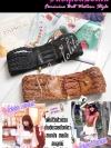 แบบสไตล์คาวาิอิ เรย์ BELT6001 ใหม่!เข็มขัด คาดใต้อก หรือช่วงเอวน่ารักมาก สายเปีย ด้านหน้าผูกเชือกไขว้ เทรนด์เค้าเลยน่ะสาวญี่ปุ่น