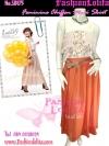 [มีหลายสีแบบชมพู่/อั้ม] เทรนด์แรงกับMaxi Skirt : SB175 กระโปรงยาวแม๊กซี่แบบแบรนด์H&M ผ้าชีฟองเนื้อดี งานเหมือนงานตัดสวยมาก สีพื้นสีส้มTangerineฟรีไซส์