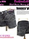 แบบสาวเกาหลี น่าร้าก PB780 :Short Denim: ใหม่! กางเกงยีนส์ขาสั้นหินแตก กระเป๋าเก๋ เซอร์น่ารักสุดๆ ไซส์M