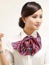 ผ้าพันคอสำเร็จรูป ผ้ายูนิฟอร์ม uniform ผ้าไหมซาติน : L20