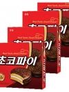 Pre Order / choco pie ช็อคโกแลตพาย สุดยอดขนมเกาหลี ขนาด 400G X 4 กล่อง
