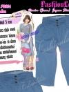 ไซส์38 เอาใจสาวอวบ #สกินนี่เอวสูงที่กำลังฮิต# PB884 Highwaist๋JeanSkinnyกางเกงสกินนี่ 5 ส่วนเอวสูงเก็บหน้าท้องดีสวยยีนส์ฟอกผ้ายืดญี่ปุ่น สียีนส์อ่อน