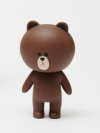 Pre Order / ตุ๊กตาไลน์หุ่น Line 15cm Brown