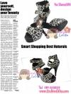 Shoes104 Leopard Print Shoes ใหม่! แบรนด์เกาหลี รองเท้าส้นสูงPlatform รัดข้อลายเสือดาว แต่งเข็มขัดสามเส้น ไซส์ 35
