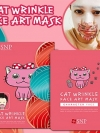 Pre Order / Animal squirrel Aqua face art mask รุ่นใหม่ (10แผ่น)