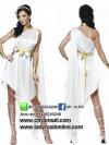 ชุดเจ้าหญิงโรมัน ชุดแฟนซีเจ้าหญิง ชุดคอสเพลย์ ชุดนางฟ้า ชุดแฟนซีสีขาว