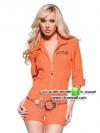 ชุดตำรวจหญิงสีส้ม