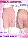 เอาใจสาวอวบ!<ผ้าดีแบบท๊อปโมเดลสาวเกาหลี> LPB176::ComfortPants  กางเกงขาสั้นทรงนิยมตีเกล็ดด้านหน้า มีกระเป๋าข้าง เอวแต่งกระดุม