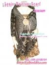 [มีหลายสี] BEAU3009 Pashmina&Silk ผ้าคลุมไหล่ ผ้าพันคอ ลายเสือหลุยส์วิตตอง Louis Vuitton ผ้าเนื้อดีผืนใหญ่