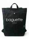 Pre Order / SEWREAL BAGUETTE BACKPACK (BLACK)