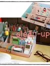 [พรีออเดอร์] Clean Up Korean Cute DIY Box กล่องจัดระเบียบ ลวดลายน่ารัก ประกอบเองได้ง่ายๆ ไว้สำหรับใส่สิ่งของต่างๆดูเป็นระเบียบเรียบร้อย