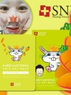 Pre Order / Animal squirrel Aqua face art mask รุ่นใหม่ (10แผ่น)