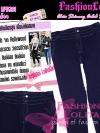 #ใหม่#ไซส์44 เอาใจสาวอวบ #สกินนี่เอวสูงที่กำลังฮิต# LPB261 HighwaistSkinnyกางเกงสกินนี่เอวสูงเก็บหน้าท้องดีสวยยีนส์ฟอกผ้ายืดญี่ปุ่น สียีนส์เข้ม