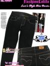 #SKINNY ฮิตฮอตแฟชั่นเกาหลีเก๋สุดๆ PB959 DenimSkinny กางเกงสกินนี่ Skinny ผ้ายีนส์ฟอกสีสวยสียีนส์ดำ งานก๊อป Levi's คัตติ้งด้ายสี ไซส์ XL