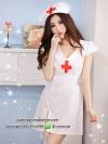 ชุดพยาบาลสีขาว