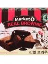 Pre Order / Market O Real Brownie 4 ชิ้น ขนมบราวนี่ ของฝากยอดฮิตจากเกาหลีค่ะ