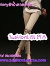 ไซส์S-XXXL ClassicSkinny กางเกงสกินนี่ Skinnyขายาว ผ้ายืดเนื้อหนา ผ้านิ่ม รุ่นนี้ทรงสวย ใส่สบาย สีน้ำตาลครีม