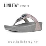 **พร้อมส่ง** FitFlop Lunetta Pewter Size US 6 / EU 37