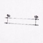 ราวแขวนผ้าขนหนู 2 ชั้น ขนาด (60ซม) Double towel bar (60cm) No.83124D