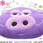 เบาะรองนั่งแฟนซี-หมู-สีม่วง