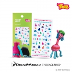 Preorder The Face Shop Trolls Trendy Nails Art Sticker #11 트렌디 네일즈 아트 스티커 11 트롤 4000won