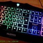 "USB Multi Keyboard ""NUBWO"" (NK-10) V.2 (Amoux Plus) Black"