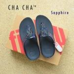 **พร้อมส่ง** FitFlop CHA CHA : Sapphire : Size US 6 / EU 37