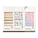 Preorder Innisfree Eco nail deco sticker no.10 Warm spring day 에코 네일 데코 스티커 2500won