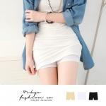 ♥♥พร้อมส่งค่ะ♥♥ กางเกงซับในขาสั้น สีขาว เนื้อผ้าคอตตอนนิ่ม สวมใส่สบาย ช่วงเอวเป็นยางยืด ใส่เป็นชั้นในกันโป๊ค่ะ