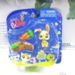 Littlest Pet Shop ชุด Bunny With Mud Puddle Action Figure
