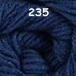 ไหมพรมดาหลา สีพื้น สี 235