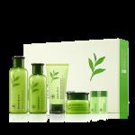 Preorder Innisfree Green tea balancing Set 43000won 그린티 밸런싱 세트