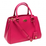 COACH SIGNATURE MINI MARGO CARRYALL # 34835 สี IM / Pink Ruby