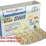 Healthy Care - Kids High DHA 30เม็ด สำหรับทารก ++ช่วยพัฒนาสมอง,สายตาและระบบประสาท (สินค้าใหม่ exp.06/2017) หมด