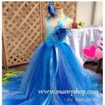 ชุดออกงานสาวน้อย tutu dress handmade