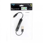 USB2.0 + Hub 4 Port ( For SmartPhone )