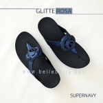 * NEW * FitFlop GLITTEROSA : Supernavy : Size US 8 / EU 39
