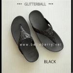 * NEW * FitFlop : GLITTERBALL : Black : Size US 9 / EU 41