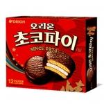 พร้อมส่ง / choco pie ช็อคโกแลตพาย สุดยอดขนมเกาหลี ช็อคโกแลตพาย สอดไส้ครีมมาชเมลโล