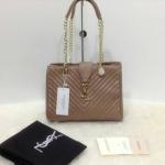 กระเป๋า YSL มาใหม่งานสวย แบบอั้ม-พัชราภาใช้ ขนาด 10 นิ้ว ราคา 900 บาท สีตามรูป
