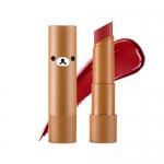 Preorder Apieu Rilakkuma Mellow lipstick RD03 (Miami) (리락쿠마 에디션) 멜로우 립스틱 6800won สิปสติกสีสันสดใส ให้ความชุ่มชื้นและสีติดทนนาน ที่มีส่วนผสมของสารสกัดจากเชียบัตเตอร์และผลไม้ มอบความชุ่มชื้นและมันวาว
