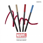Preorder The Face Shop Marvel Ink Gel Pencil Eyeliner 더페이스샵 잉크젤 펜슬라이너(마블) 8000won