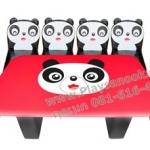 EVF-31 ชุดโต๊ะเก้าอี้ครอบครัวหมีแพนด้า