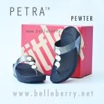 **พร้อมส่ง** PETRA : Pewter : Size US 9 / EU 41